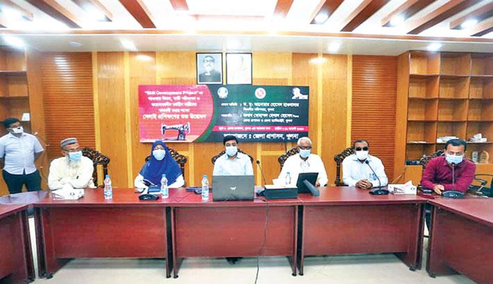 Inauguration of virtual sewing training workshop