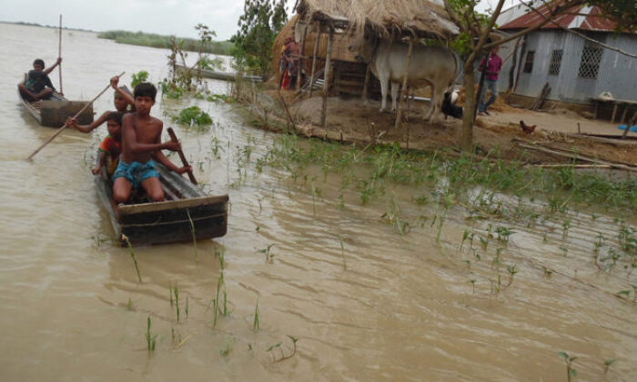 Flood situation continues improving in Ganges basin