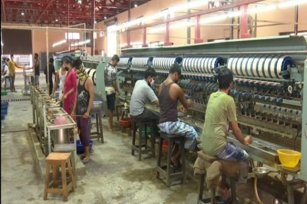 New silk factory boosts J-K economic strength