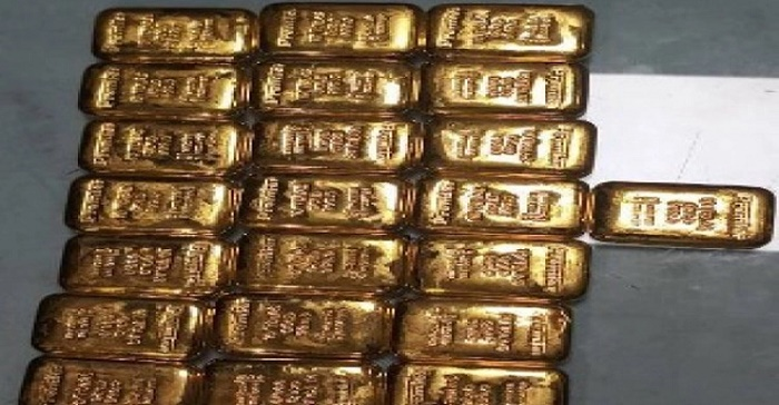 Man held with 3.7kg gold at Dhaka airport