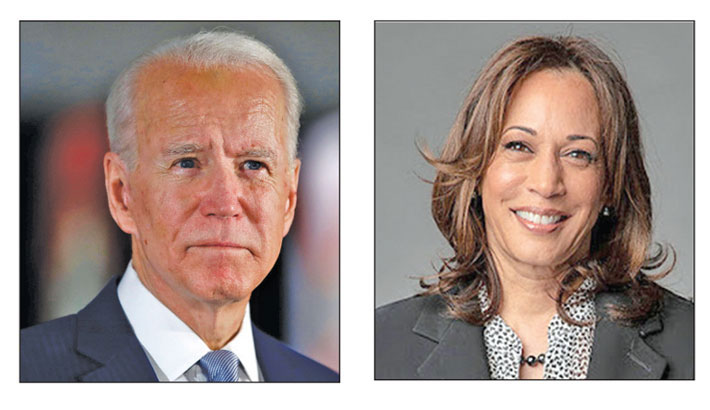 Biden, Harris vow to 'rebuild' America