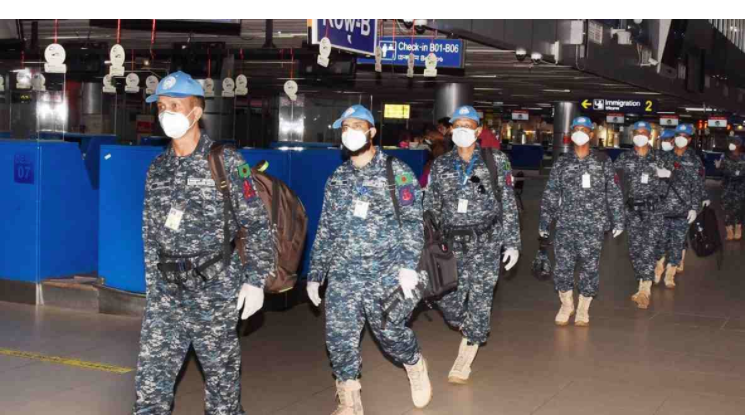 2nd group of Navy leaves for South Sudan