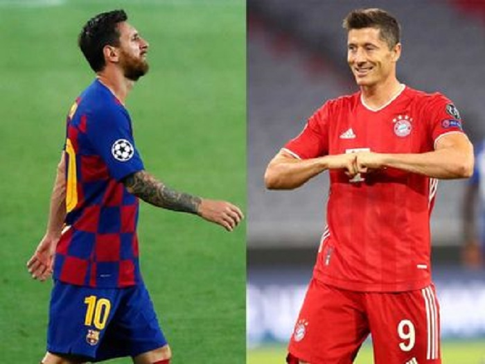 'You can't compare Lewandowski and Messi' - Bayern boss Flick