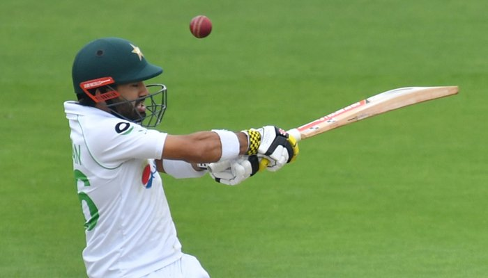 Pakistan's Rizwan frustrates England with fine fifty