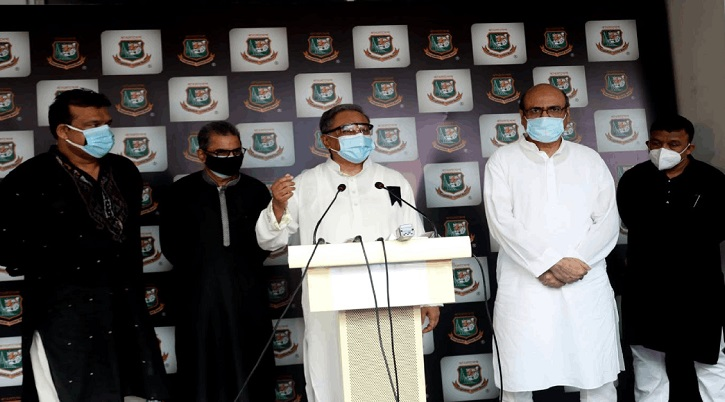 BCB reluctant to host cricket at home due to Covid-19