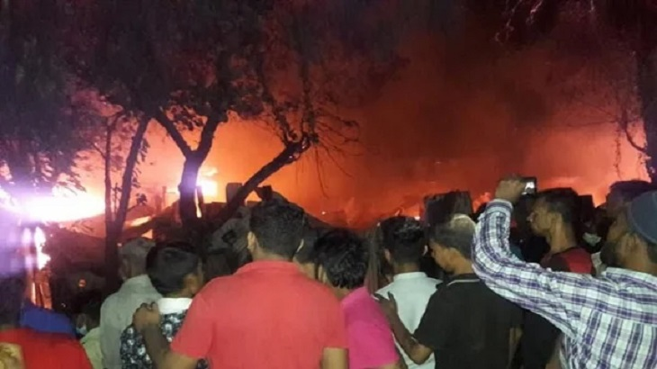 3 of a family burned dead in Chattogram slum fire