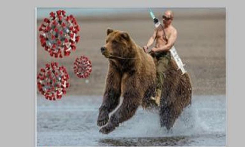 Coronavirus: Putin memes flood social media