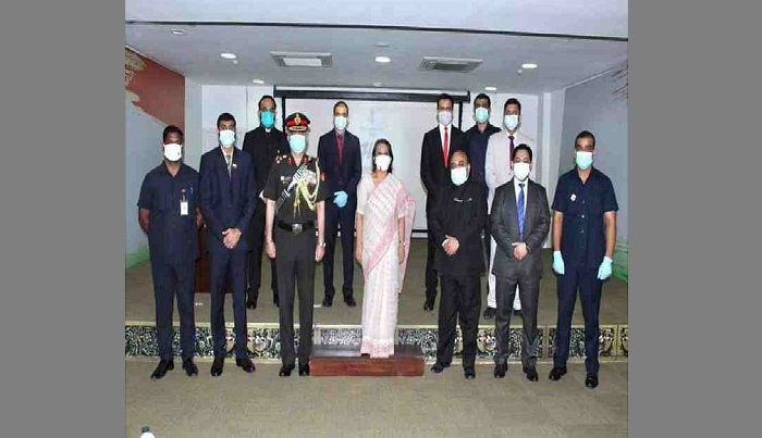 Indian High Commission in Dhaka observes 74th Independence Day