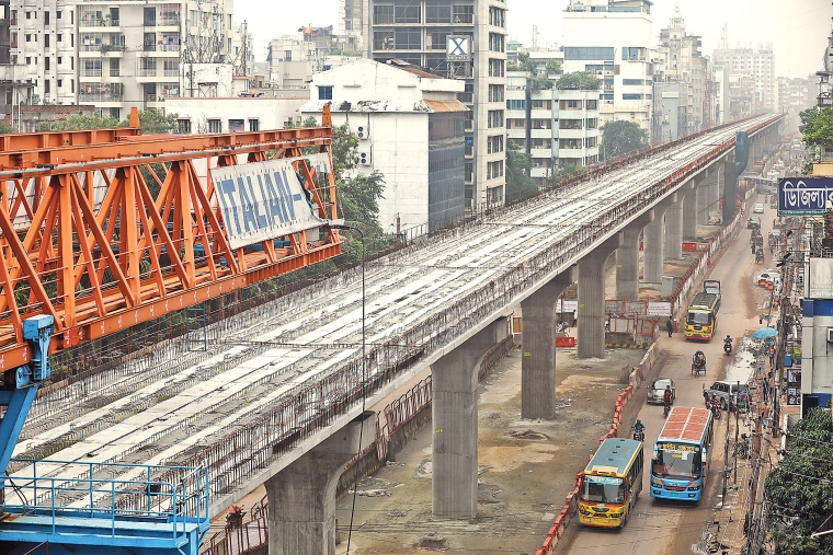 Work on metro rail project resumes