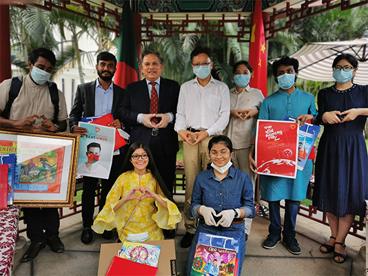Chinese embassy awards 22 artists for COVID awareness posters