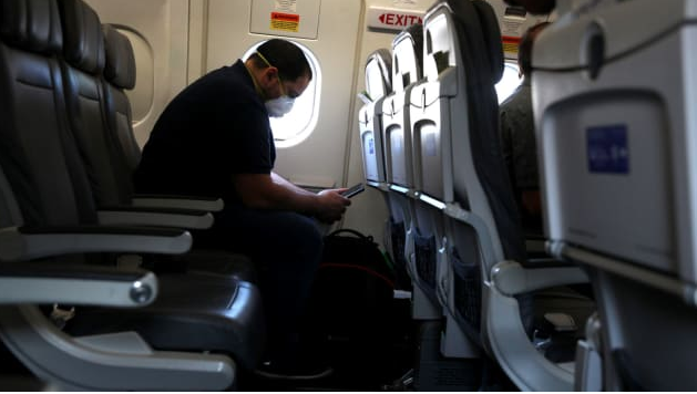 Scientists say they've figured the odds of catching Covid-19 on a plane