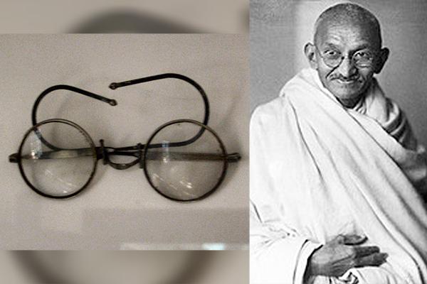Gandhi's glasses left in letterbox sell for £260k