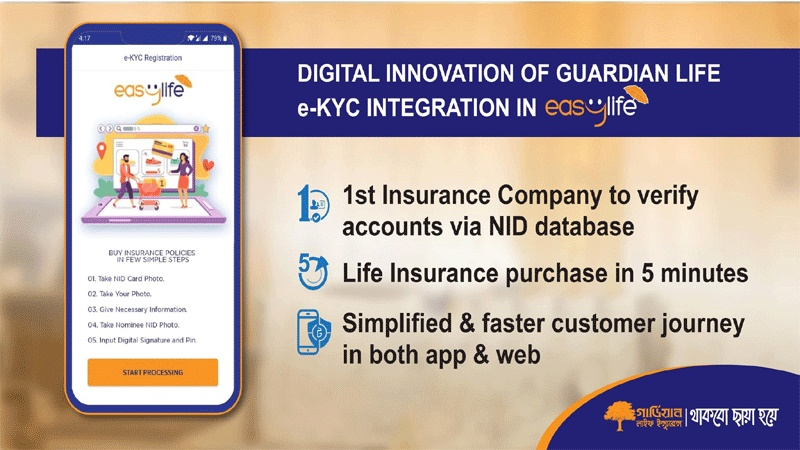 Guardian Life brings e-KYC solution to get life insurance in 5 minutes