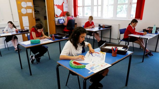 Coronavirus: Last-minute schools advice on reopening 'reprehensible' in UK