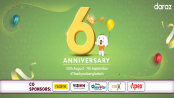 Daraz 6th anniversary campaign contains exclusive offers and discounts