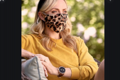 Animal print, beads or plain black, masks become fashion item