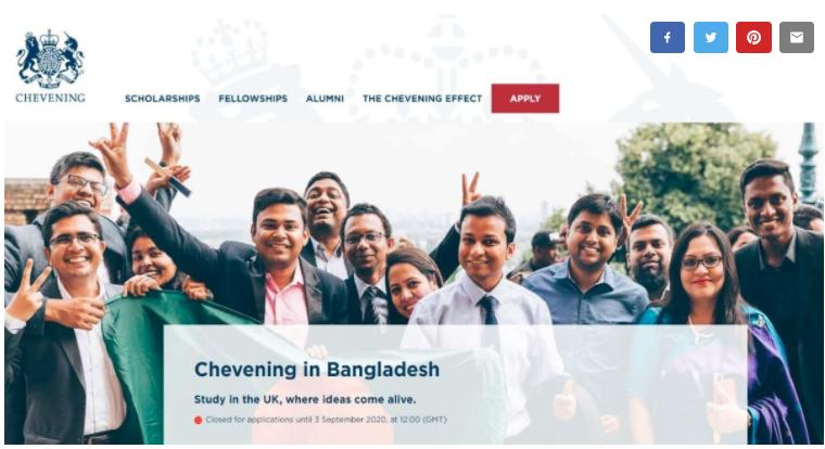 British envoy congratulates 16 Chevening awardees from Bangladesh