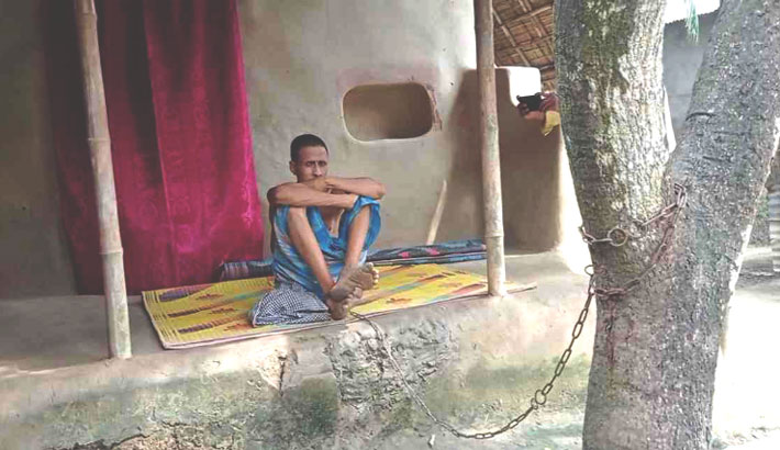 'Mentally ill' man in shackles for 20 years