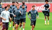 Germany battle Spain in Nations League