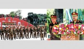 Army chief hands over regimental colour to 6 units