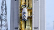 Vega rocket launches from French Guiana