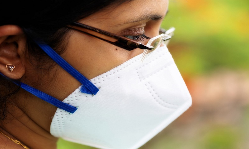 'Even face shield, N-95 mask together can't stop coronavirus'