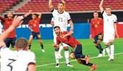 Spain deny Germany