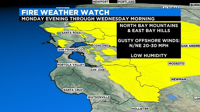 Heatwave brings record high temperatures, fire risks to San Francisco Bay Area