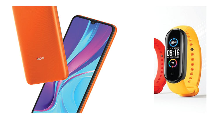 Xiaomi launches 9C and smart band