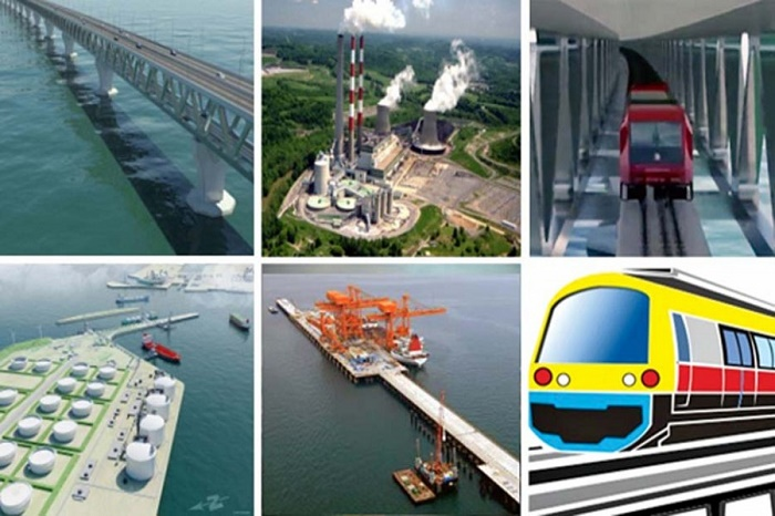 Mega projects gain pace