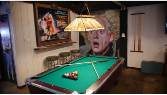 Back to the Future themed bar opens where you can 'time travel' back to the '80s