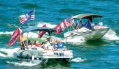 Several boats sink at  pro-Trump parade in Texas