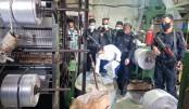 Illegal polythene worth Tk 20m seized in city