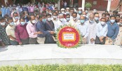 Places a wreath at the grave of Father of the Nation Bangabandhu Sheikh Mujibur Rahman