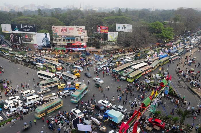Traffic chaos back in capital