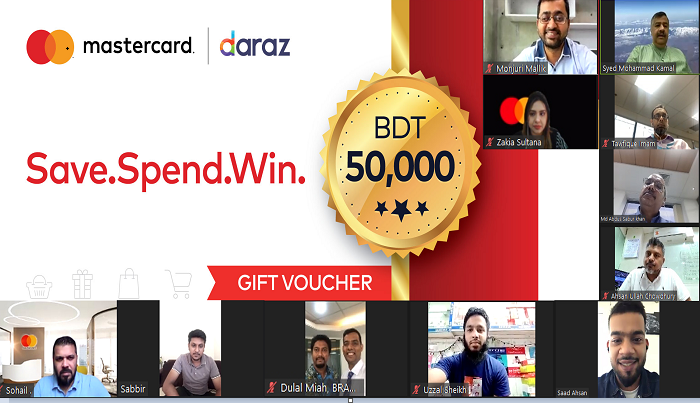 Daraz Bangladesh and Mastercard Announces Winners of Save.Spend.Win. Campaign