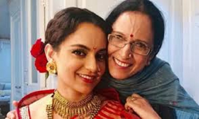 Kangana's mother thanks Amit Shah for support