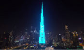 It's a boy! Gender reveals reach new heights on the Burj Khalifa (Video)