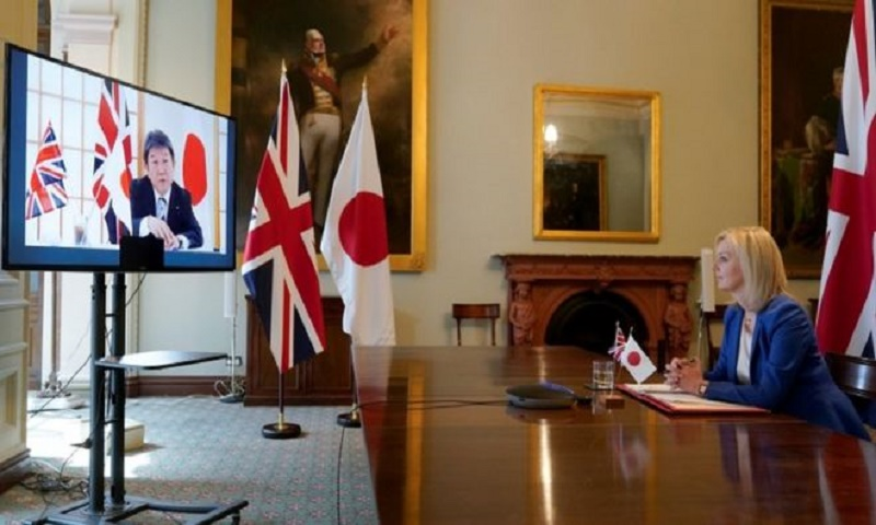 UK signs first major post-Brexit trade deal with Japan