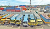 Container transport hampered at Ctg port for 12 hrs