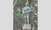 Confederate statue  removed in US city