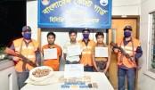Three held with 20,000 yaba  tablets in Teknaf