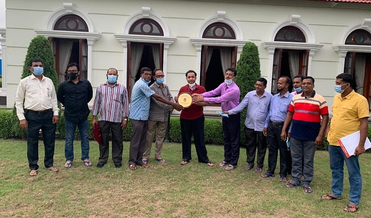 Cement sector CBA leaders appreciate Bashundhara Group