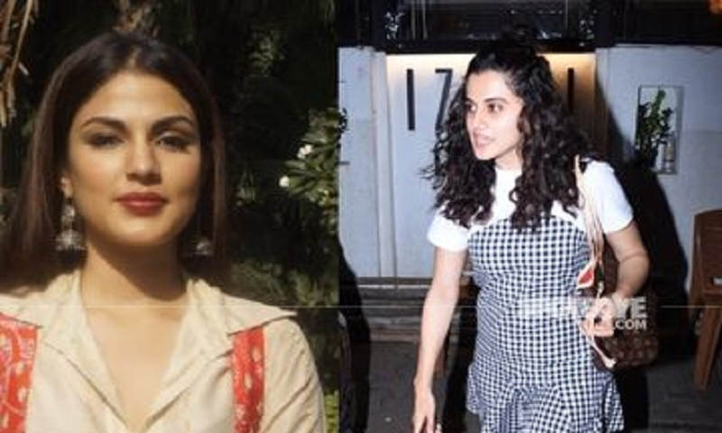 'Do you want Rhea Chakraborty to go to jail or the culprit?': Taapsee Pannu