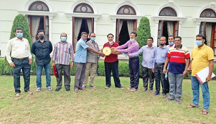 Cement sector CBA leaders praise Bashundhara Group