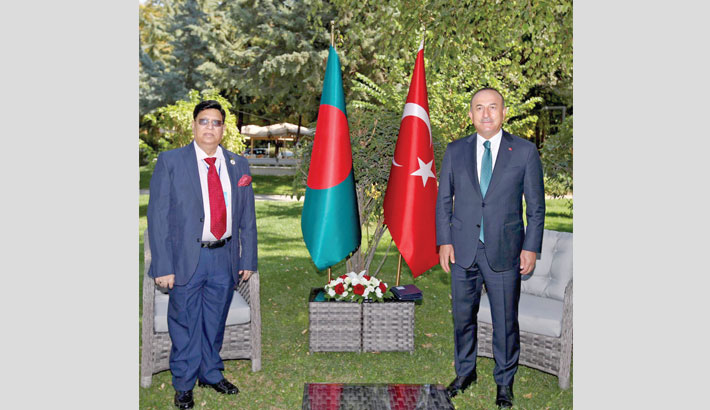Turkey keen to boost trade, investment with Bangladesh