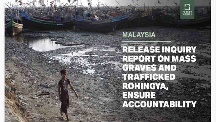 Malaysia urged to release inquiry report on mass graves, trafficked Rohingyas