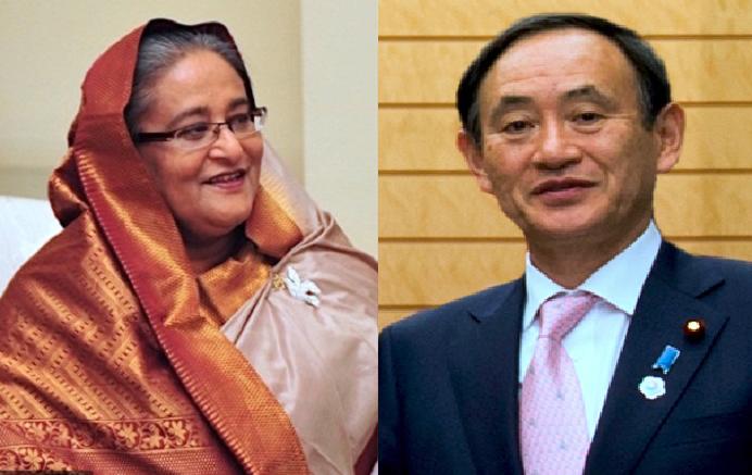 Hasina felicitates Japanese new PM