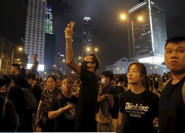 China declares 12 arrested Hong Kong activists as 'separatists'