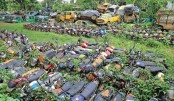 Police stations turn junkyards